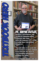 Wayne Butler, Textbook Hero (2018)