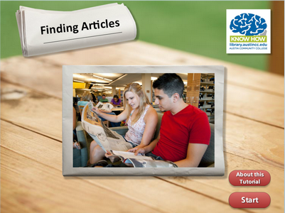 Finding Articles tutorial cover image