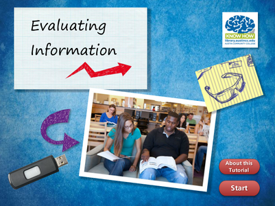 Evaluating Information tutorial cover image