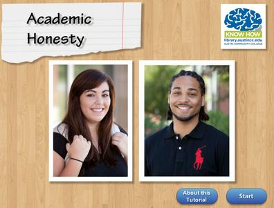 Academic Honesty tutorial cover image