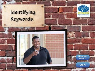 Identifying Keywords tutorial cover image